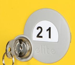 Numbered Door, Numbered Key Fob